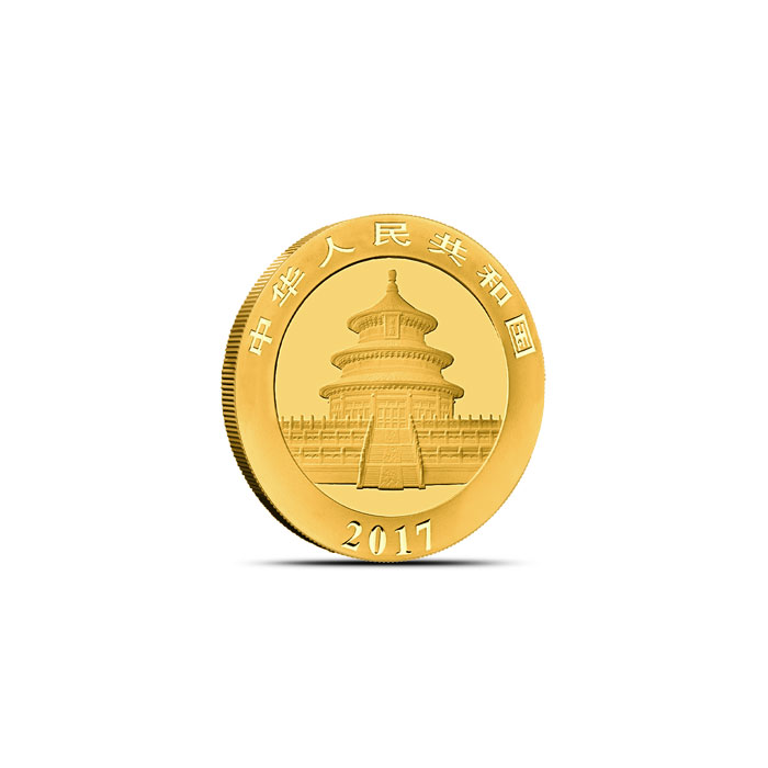 Chinese Gold Panda Coin