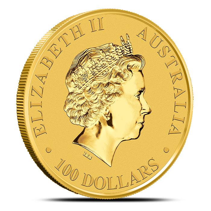 1 oz Gold Kangaroo Coin
