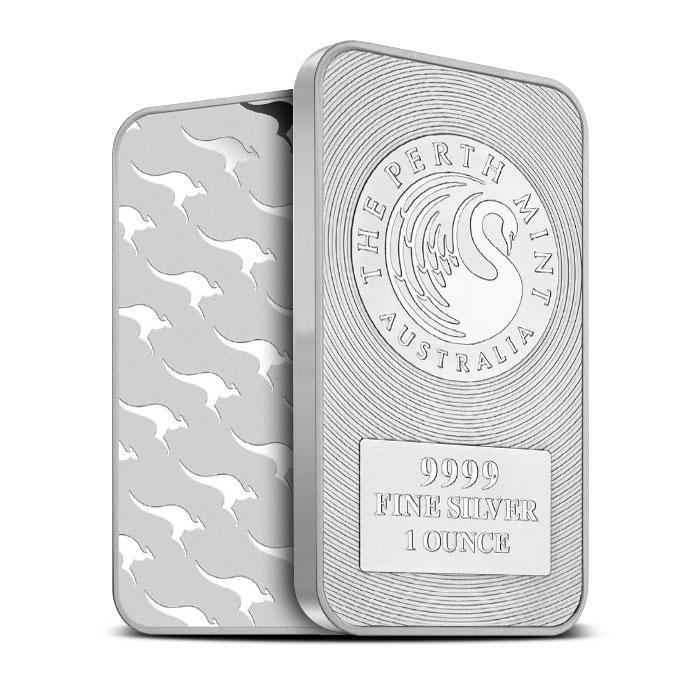 Perth Mint Kangaroo Silver Bar