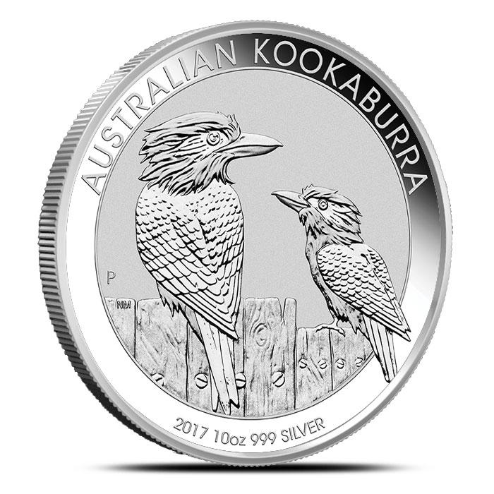Silver Kookaburra 10 oz Coin
