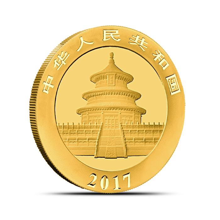 Chinese 15 gram Gold Panda Coin