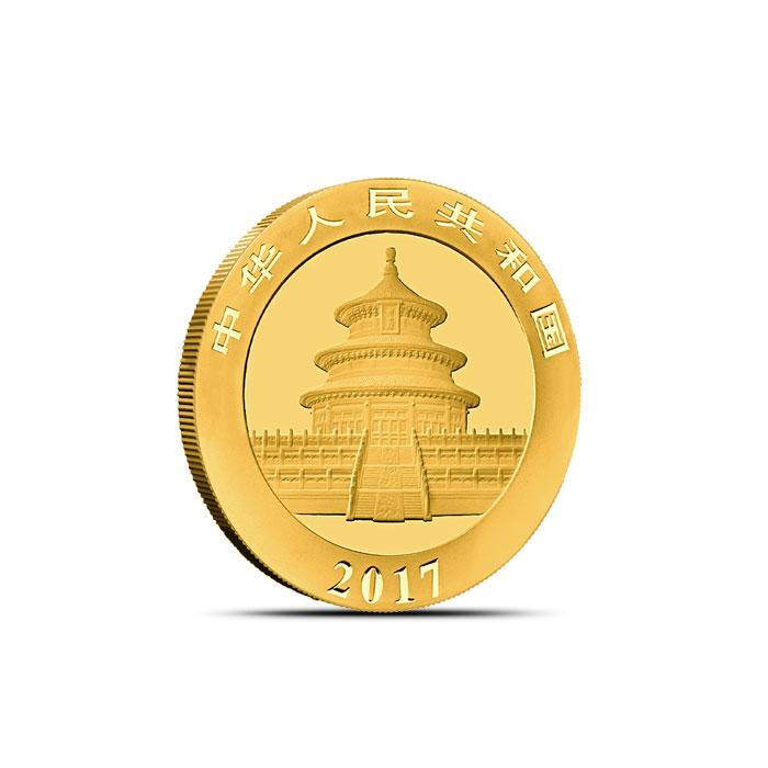 Chinese 3 gram Gold Panda Coin