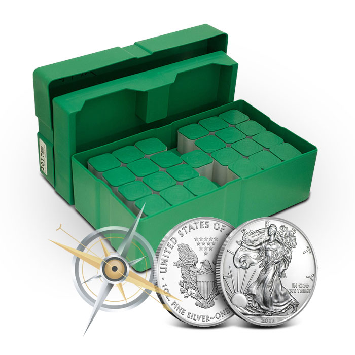 American Silver Eagle | Monster Box