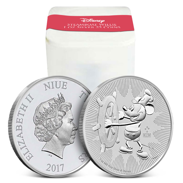 Steamboat Willie Silver Coin | 25 Count