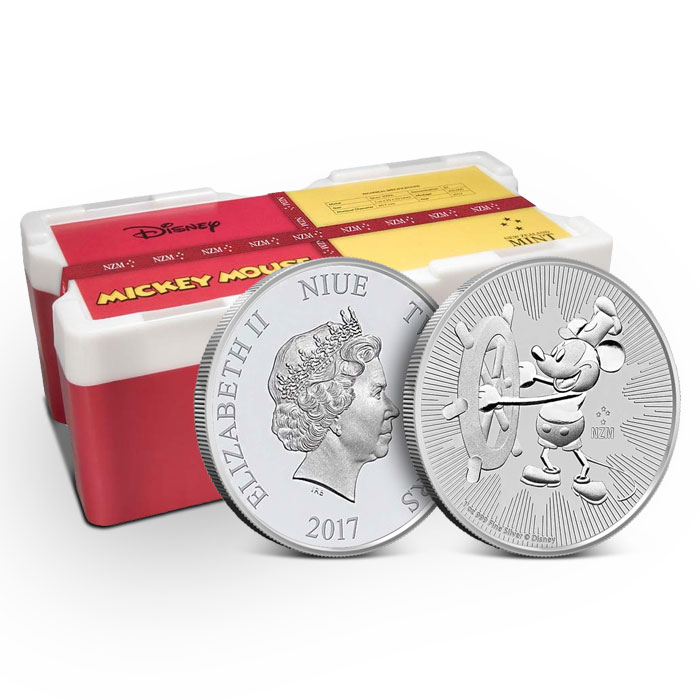 Steamboat Willie Silver Coin | Monster Box