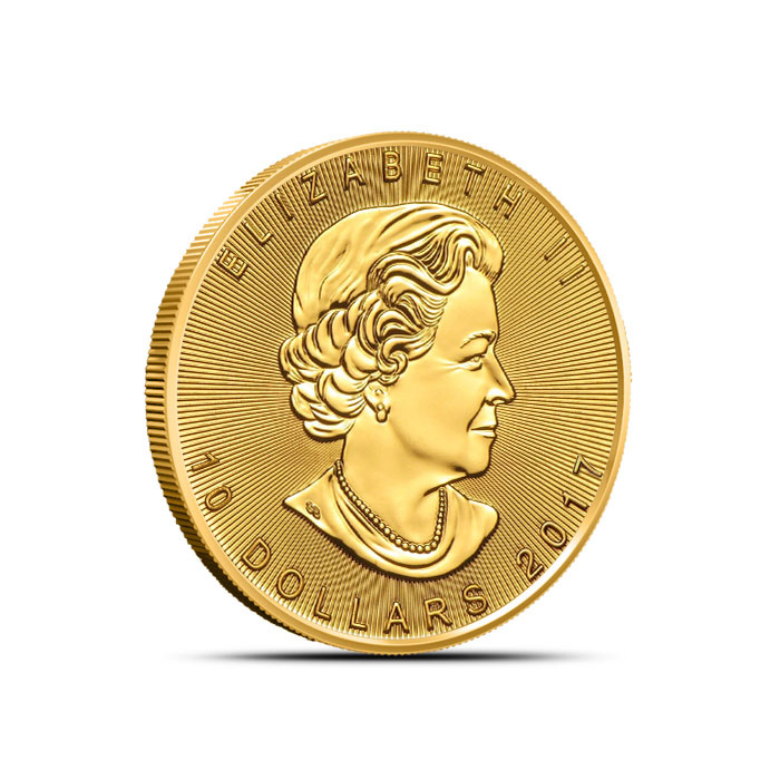 2017 1/4 oz Canadian Gold Maple