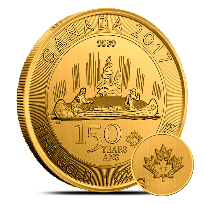 Royal Canadian Gold Voyager Coin