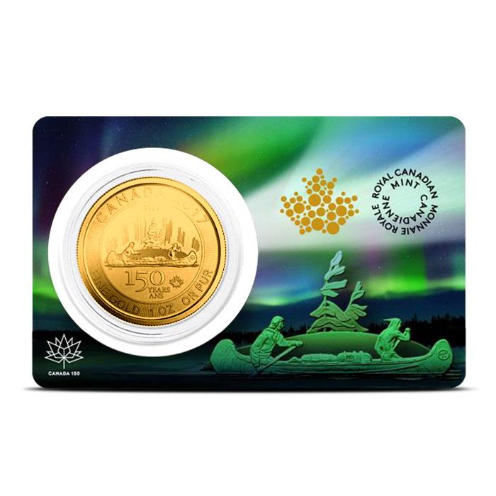 RCM 1 oz Gold Voyager in Assay Card