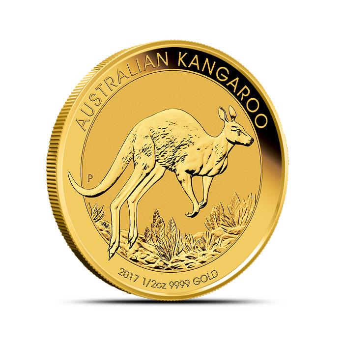 2017 Gold Kangaroo 1/2 oz Coin