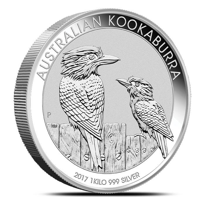 Silver Kookaburra 1 kilo Coin | 2017