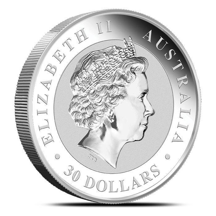 2017 1 Kilo Silver Kookaburra Coin