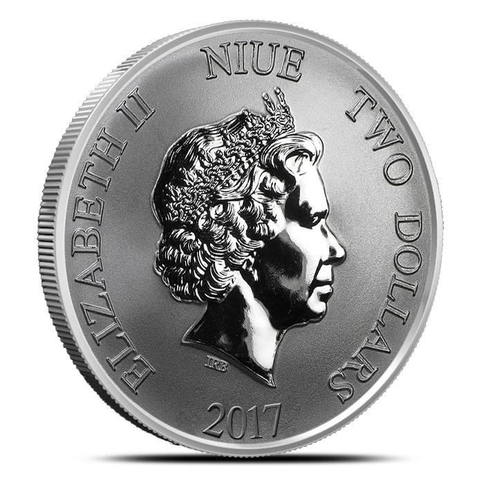 Niue Silver Turtle Coin