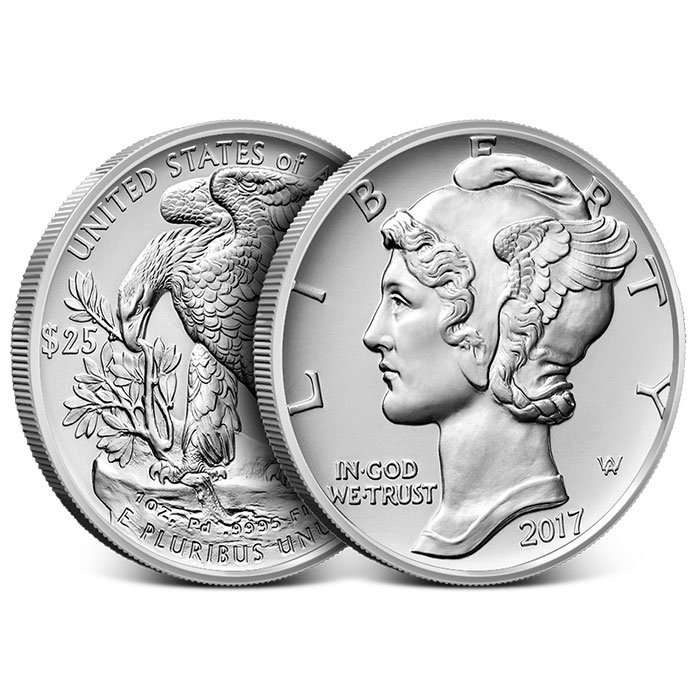 2017 1 oz American Palladium Eagle-18191