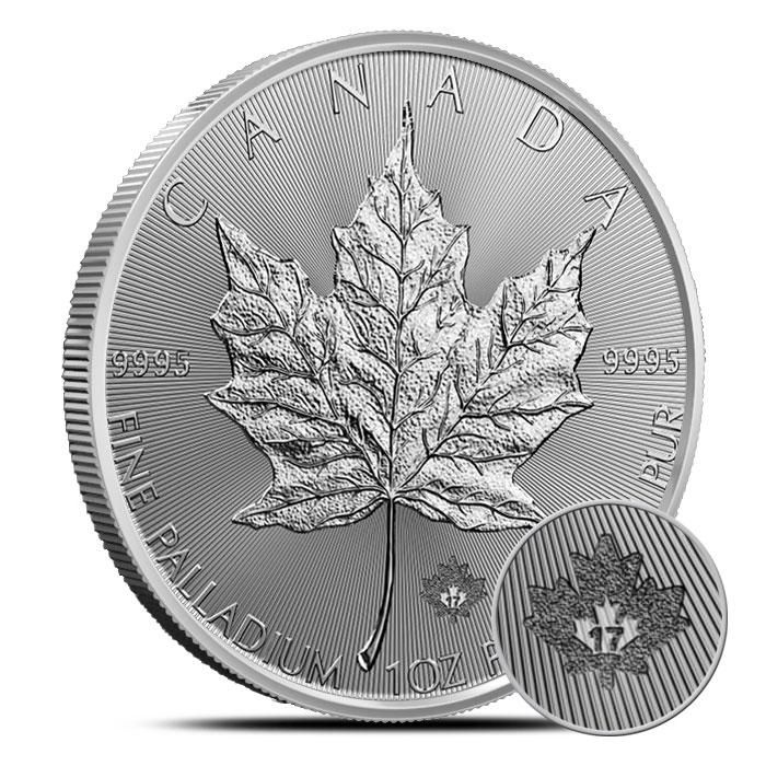 2017 Palladium Maple Leaf