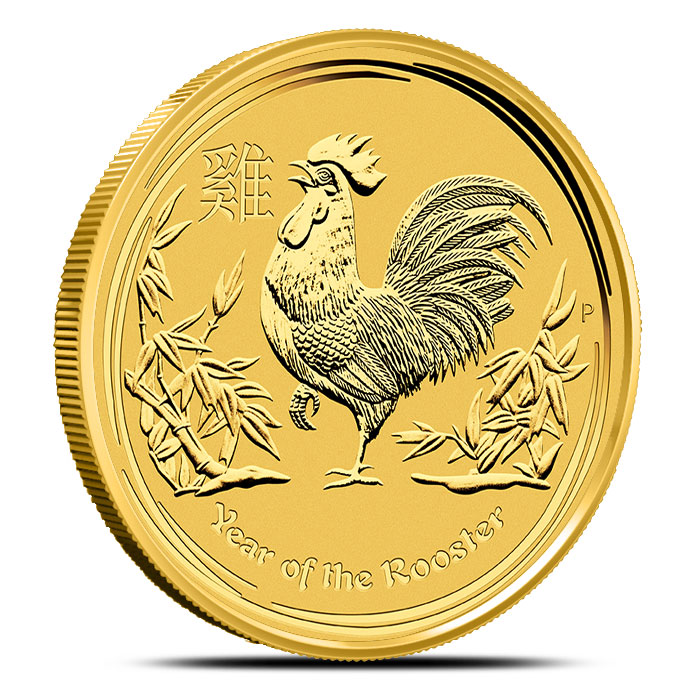 Year of the Rooster Gold Coin | 1 oz