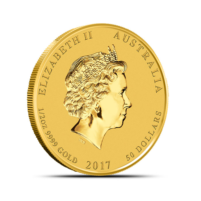 Year of the Rooster 1/2 oz Gold Coin | Perth Mint