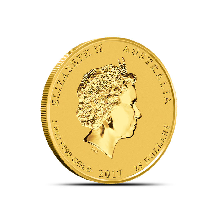 Year of the Rooster 1/4 oz Gold Coin | Perth Mint