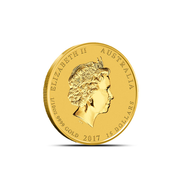 Year of the Rooster 1/10 oz Gold Coin | Perth Mint