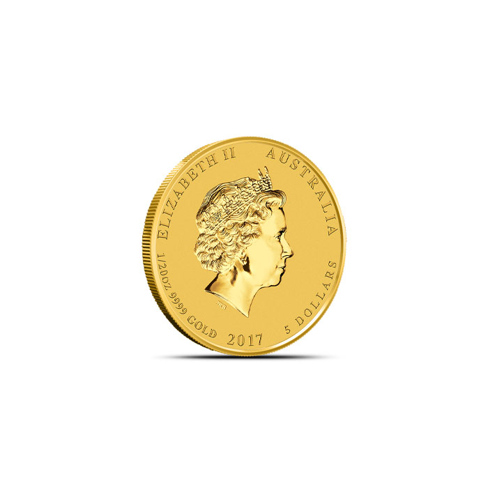 Year of the Rooster 1/20 oz Gold Coin | Perth Mint