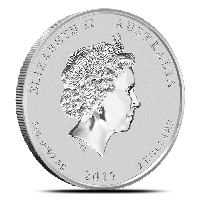 Year of the Rooster 2 oz Silver Coin | Perth Mint