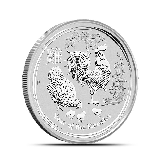 Year of the Rooster 1/2 oz Silver Coin