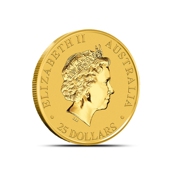 Gold Kangaroo 1/4 oz Coin