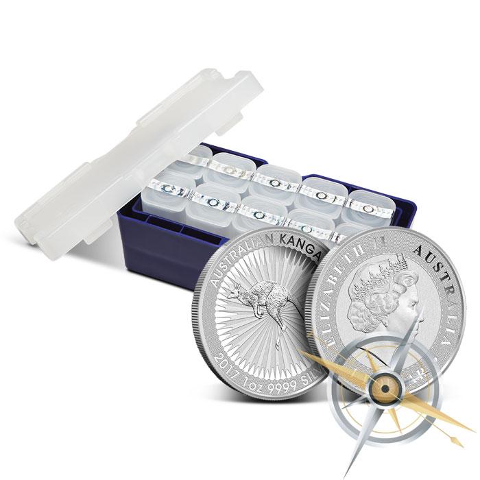 2017 Silver Kangaroo Coin | Monster Box