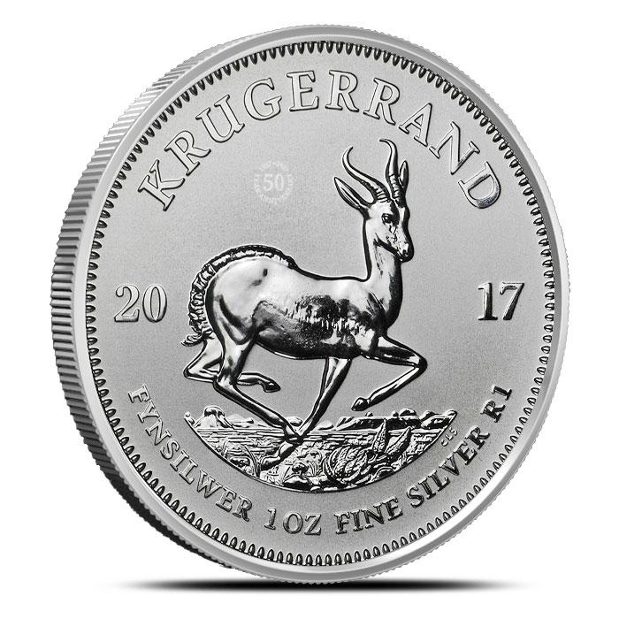 2017 1 oz Silver Krugerrand Reverse