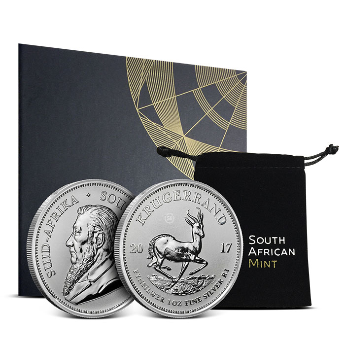 2017 Silver Krugerrand | Packaging