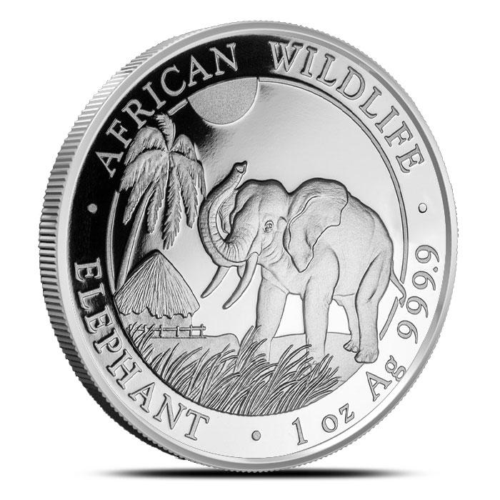 2017 Silver Elephant Coin