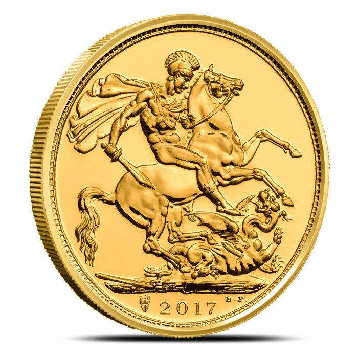 2017 Gold Sovereign