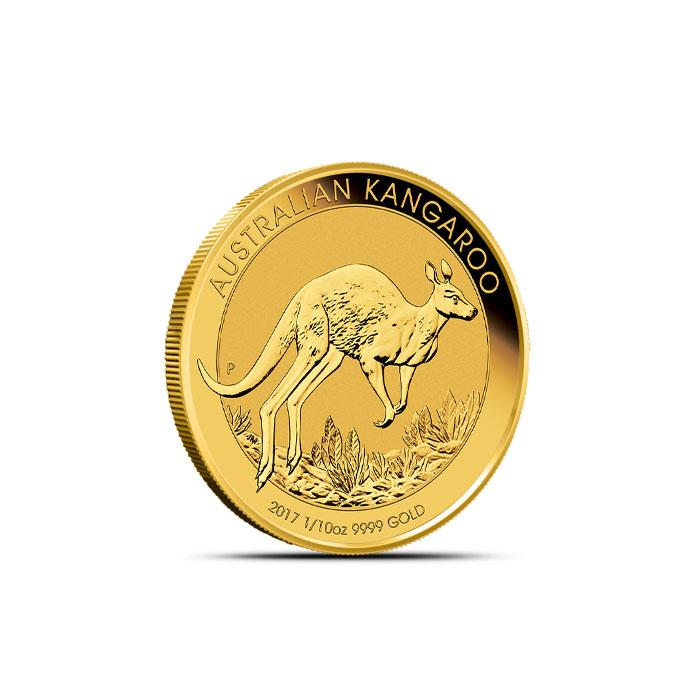 2017 Gold Kangaroo 1/10 oz Coin