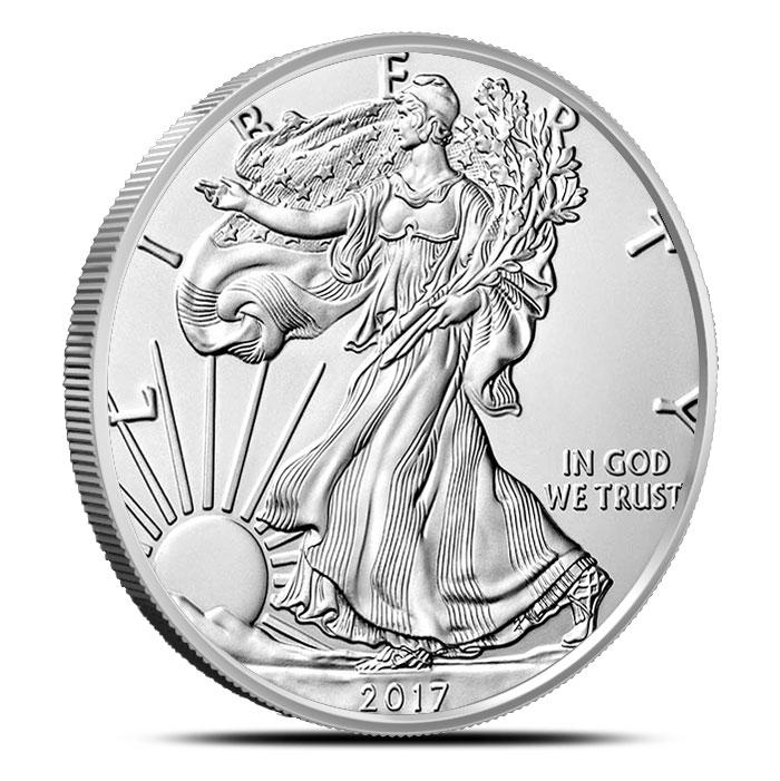 2017-W Burnished American Silver Eagle