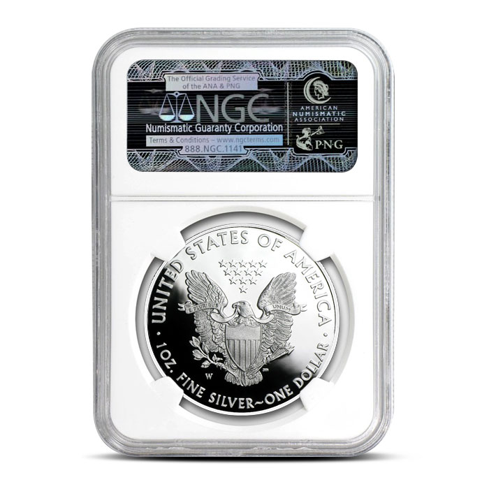 2017 Proof Silver Eagle PF70 | NGC
