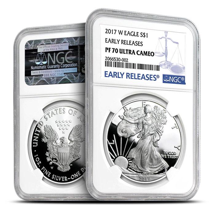 2017 Proof Silver Eagle | PF70