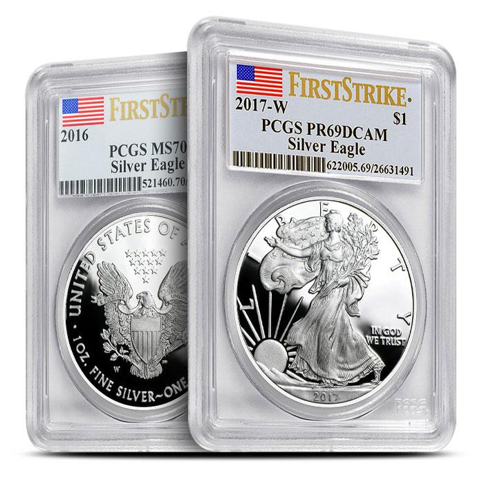 2017 Proof Silver Eagle | PR69
