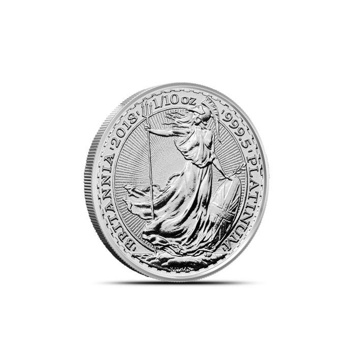 2018 Great Britain 1/10 oz Platinum Britannia