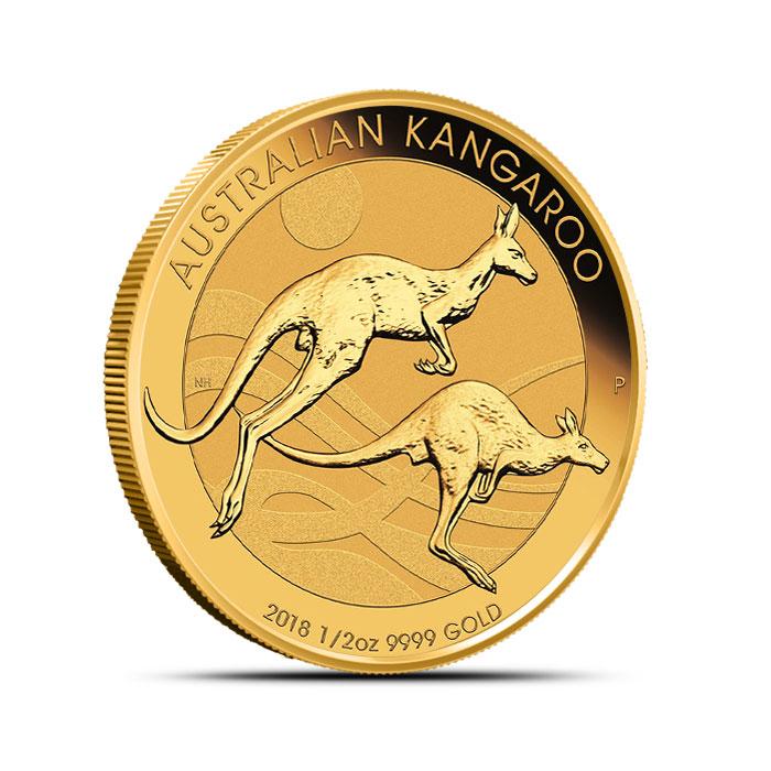2018 1/2 oz Gold Australian Kangaroo