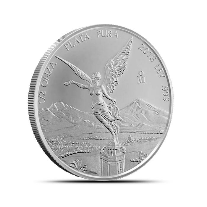 2018 Mexico 1/2 oz Silver Libertad
