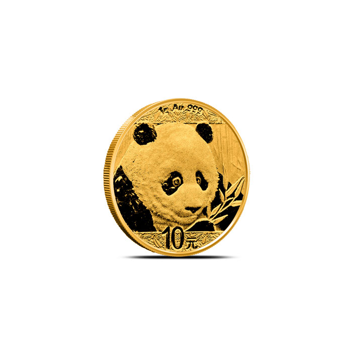 2018 1 gram Chinese Gold Panda