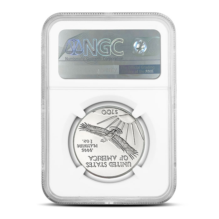 2018 1 oz American Platinum Eagle | NGC MS69 First Day of Issue