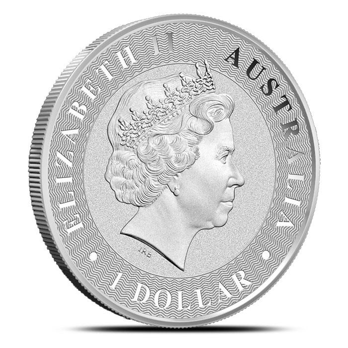 1 oz Australian Silver Kangaroo   Obverse
