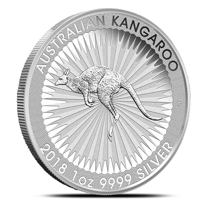 2018 1 oz Australian Silver Kangaroo
