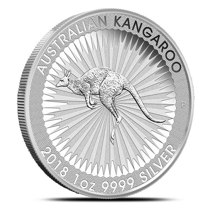 1 oz Australian Silver Kangaroo   Reverse