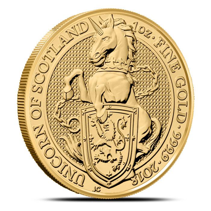 2018 1 oz British Gold Queen