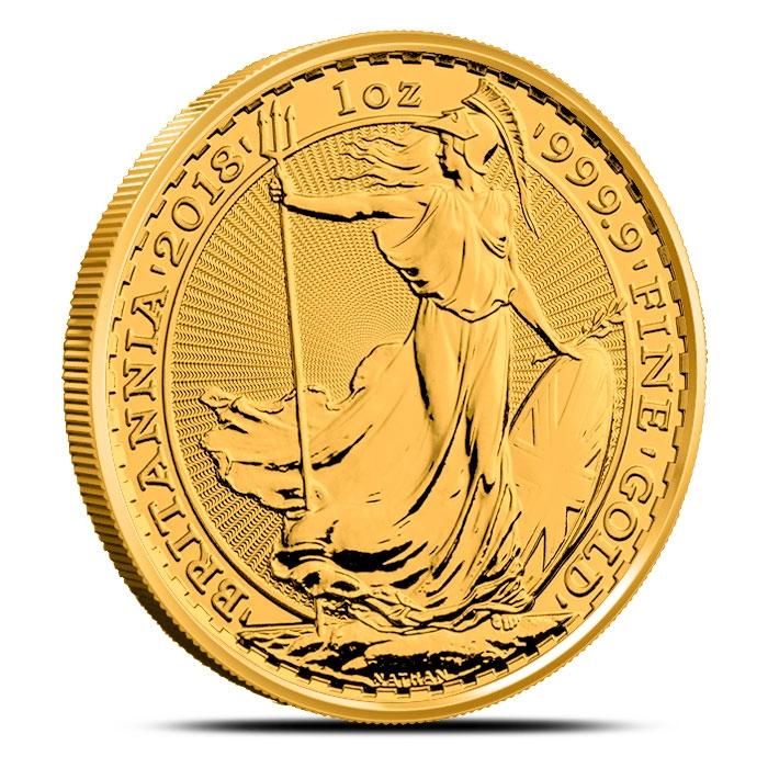 2018 1 oz Gold Britannia