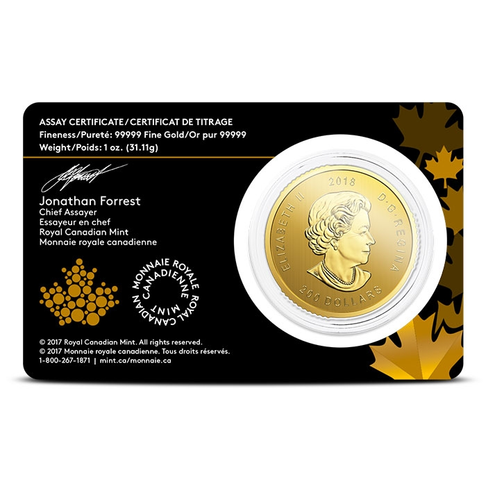 Golden Eagle 1 oz Gold Call of the Wild