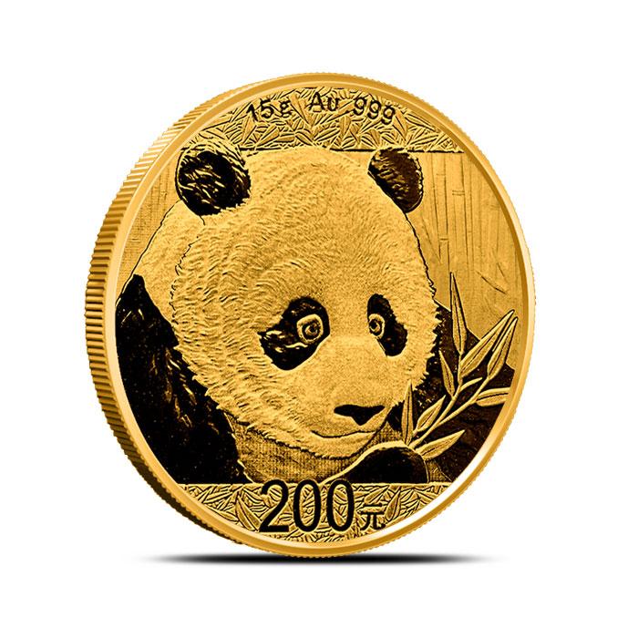 2018 15 gram Chinese Gold Panda