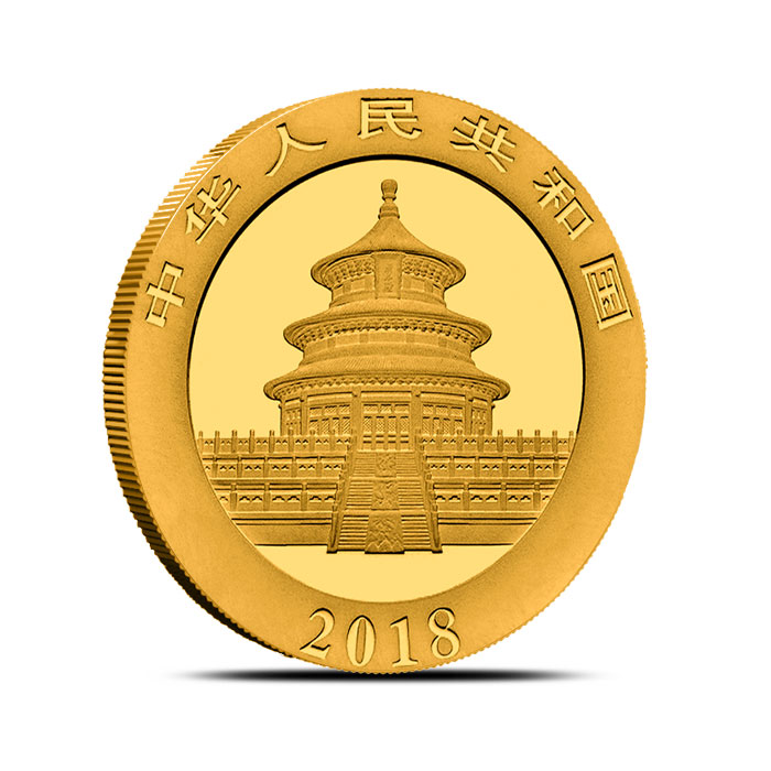 15 gram Chinese Gold Panda