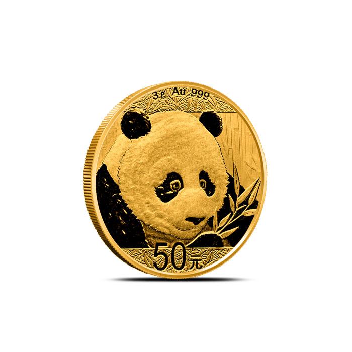 2018 3 gram Chinese Gold Panda